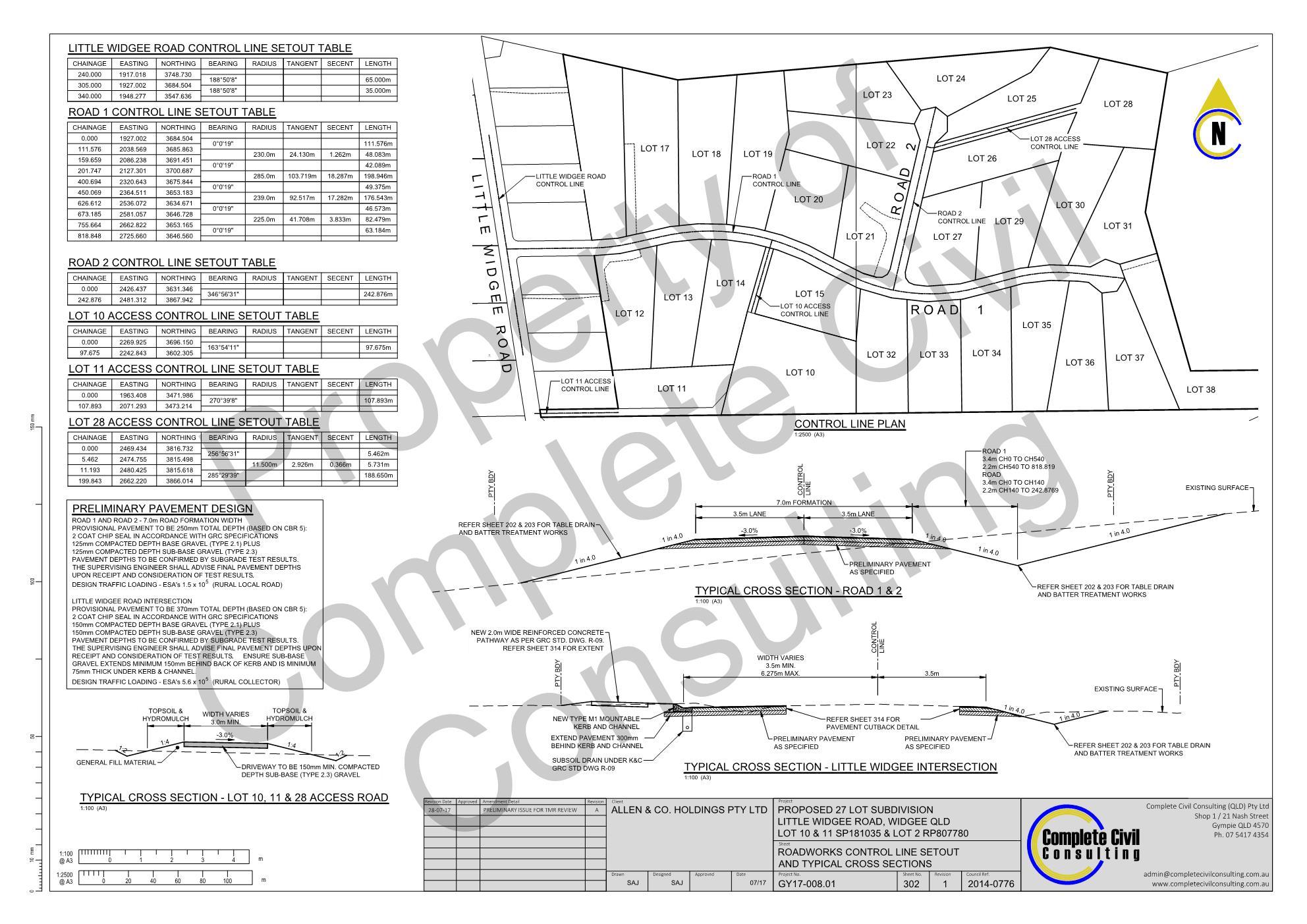 Widgee civil engineering Gympie civil consulting subdivision civil design 2