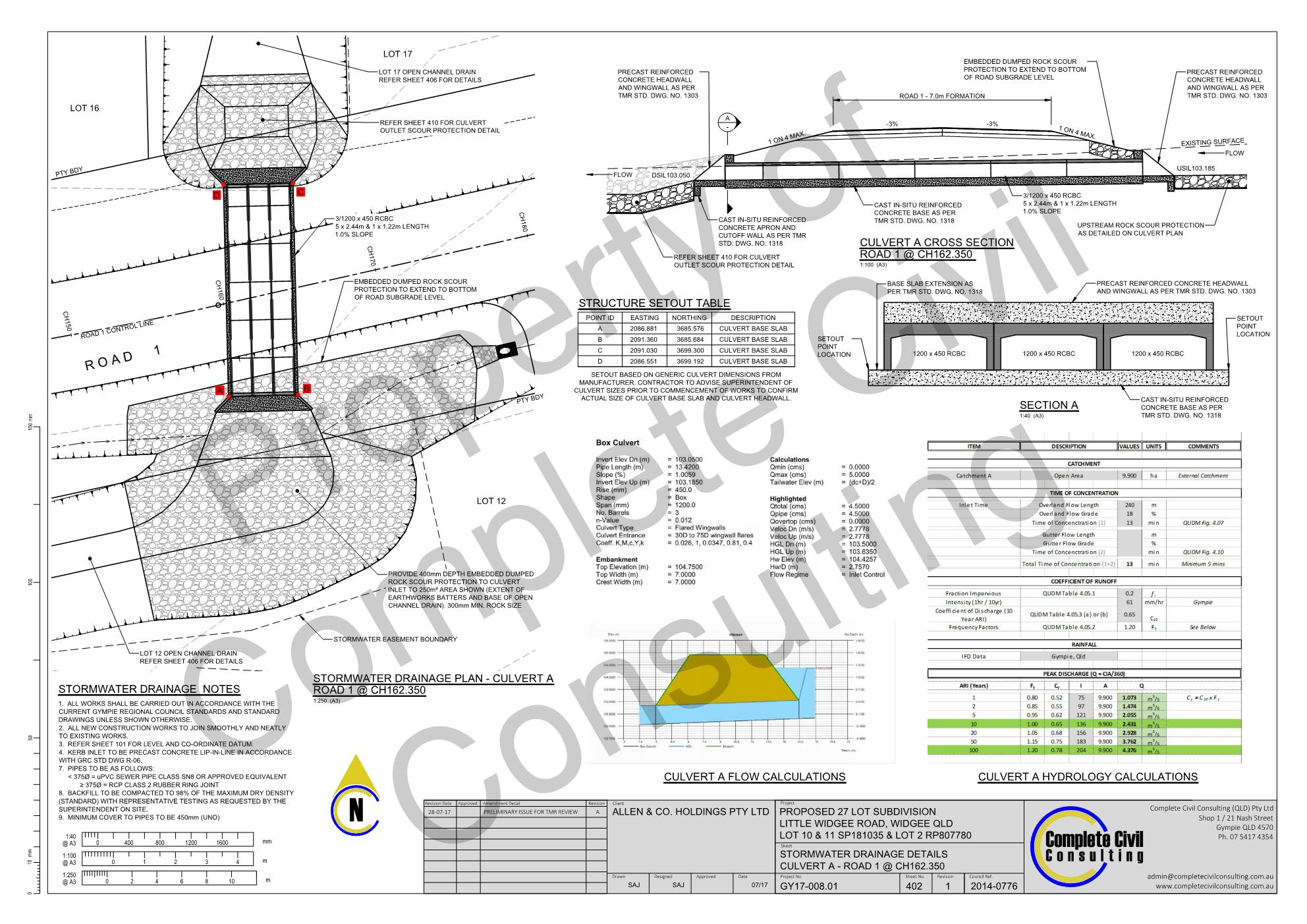 Widgee civil engineering Gympie civil consulting subdivision civil design 4