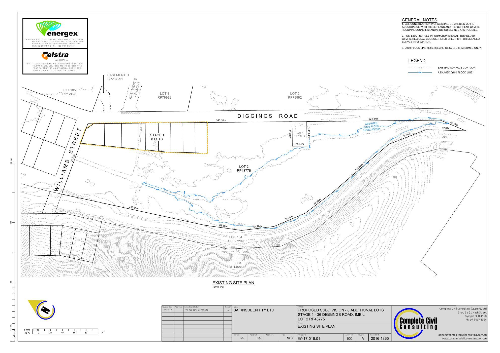 Imbil civil engineering Gympie civil consulting subdivision civil design civil consulting 1